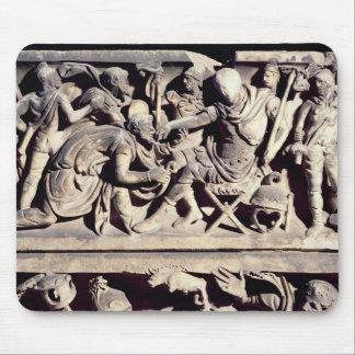 ローマへの野蛮人の服従 マウスパッド