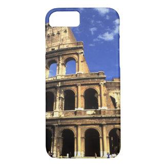 ローマイタリアのコロシアムの有名な台なし iPhone 8/7ケース