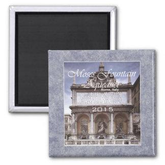 ローマイタリアモーゼの噴水旅行写真の磁石 マグネット