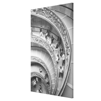 ローマイタリア、バチカンの階段3 キャンバスプリント
