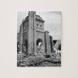 ローマカトリック教のカテドラル、Nagasaki_Warのイメージ ジグソーパズル