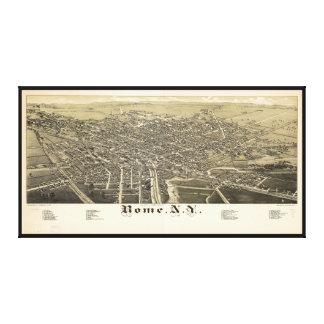 ローマニューヨーク(1886年)のパノラマの眺め キャンバスプリント