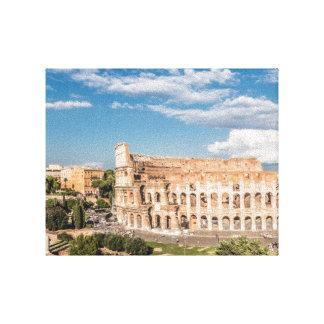 ローマローマのキャンバス イタリア のColosseum キャンバスプリント