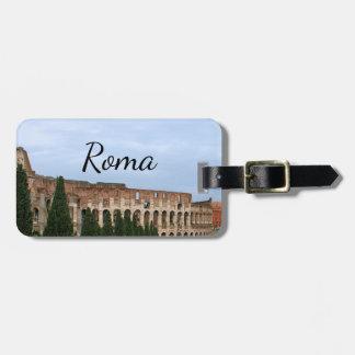 ローマローマイタリアローマイタリア| Colosseum ラゲッジタグ