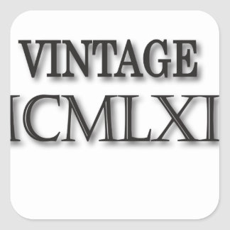 ローマヴィンテージ1963 スクエアシール