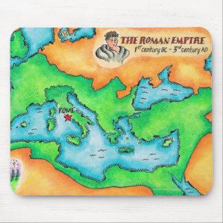 ローマ帝国の地図 マウスパッド