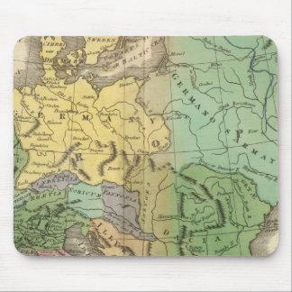 ローマ帝国の地域の地図 マウスパッド