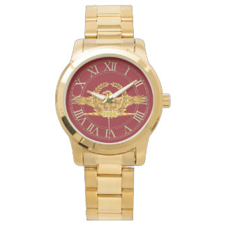 ローマ帝国ワシの金時計 腕時計