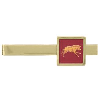 ローマ帝国雄豚のタイクリップ ゴールド タイバー