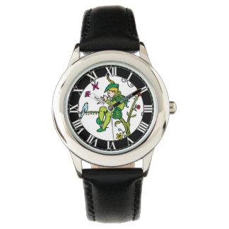 ローマ数字のヴィンテージの雑色のパイパー 腕時計
