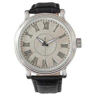 ローマ数字の腕時計 腕時計