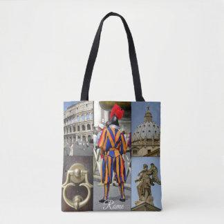 ローマ永遠の都市コラージュ トートバッグ