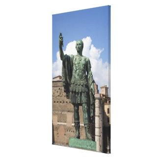 ローマ皇帝の彫像 キャンバスプリント