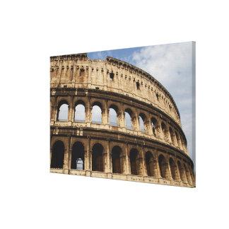 ローマ芸術。 ColosseumかFlavian キャンバスプリント