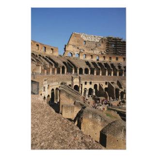 ローマ芸術。 ColosseumかFlavian フォトプリント