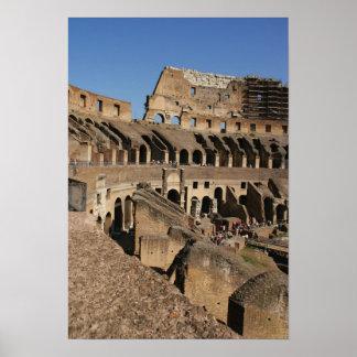 ローマ芸術。 ColosseumかFlavian ポスター