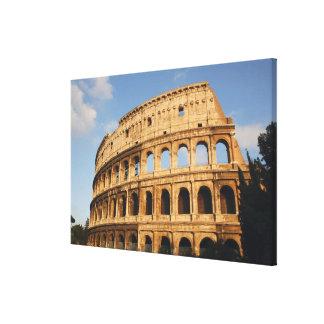 ローマ芸術。 ColosseumかFlavian 2 キャンバスプリント