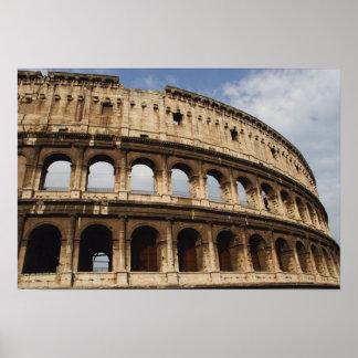 ローマ芸術。 ColosseumかFlavian 2 ポスター