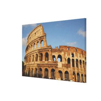 ローマ芸術。 ColosseumかFlavian 3 キャンバスプリント