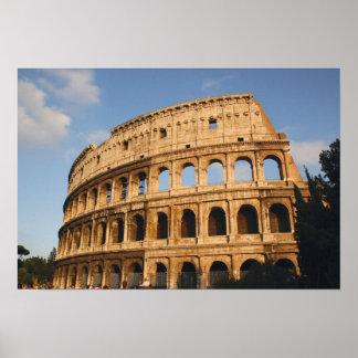 ローマ芸術。 ColosseumかFlavian 3 ポスター