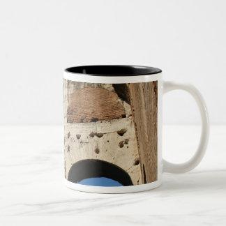 ローマ芸術。 ColosseumかFlavian 5 ツートーンマグカップ