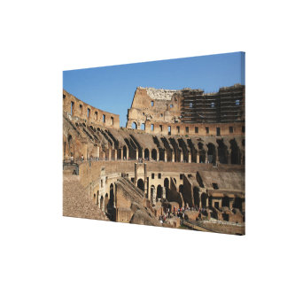 ローマ芸術。 ColosseumかFlavian 6 キャンバスプリント