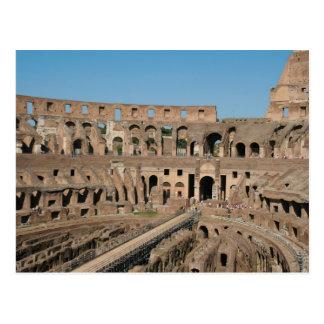 ローマ芸術。 ColosseumかFlavian 6 ポストカード