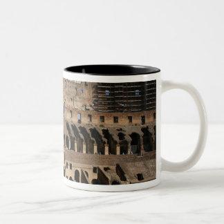 ローマ芸術。 ColosseumかFlavian 7 ツートーンマグカップ