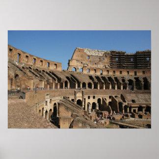 ローマ芸術。 ColosseumかFlavian 7 ポスター