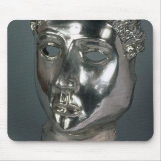 ローマ銀製のマスク3世紀な広告(siの第1半分 マウスパッド
