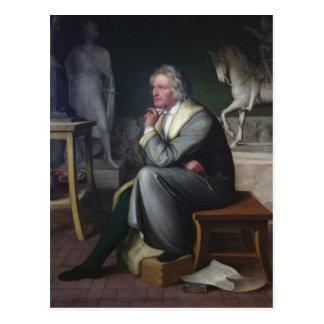 ローマ1834年の彼のスタジオのバーテルThorvaldsen ポストカード