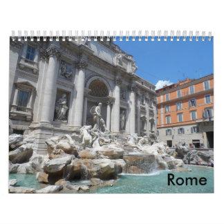 ローマ2017年 カレンダー
