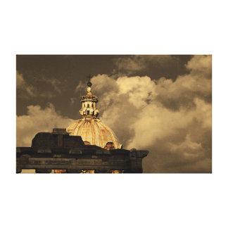 「ローマ」の声明の写真キャンバス キャンバスプリント