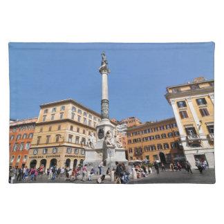 ローマ、イタリアの広場Navona ランチョンマット