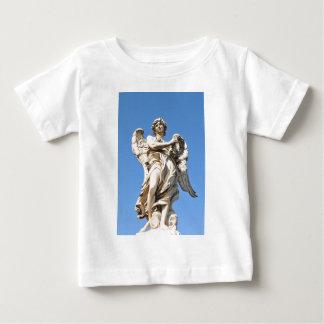 ローマ、イタリアの石造りの天使 ベビーTシャツ