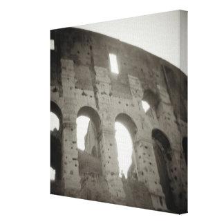 ローマ、イタリアのcolosseum キャンバスプリント