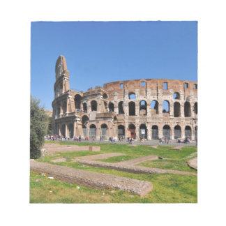 ローマ、イタリアのColosseum ノートパッド