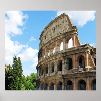 ローマ、イタリアのColosseum ポスター