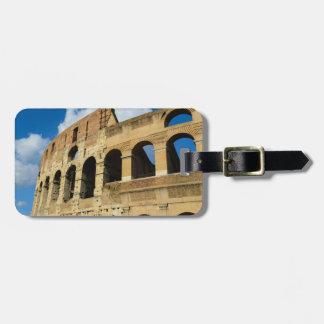 ローマ、イタリアのColosseum ラゲッジタグ
