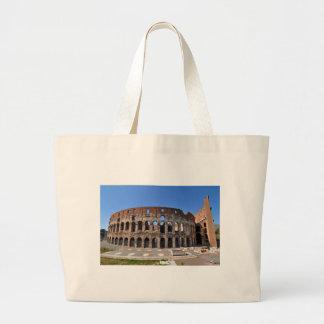 ローマ、イタリアのColosseum ラージトートバッグ
