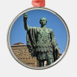 ローマ、イタリアのTrajanの彫像 メタルオーナメント