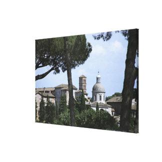 ローマ、イタリア3 キャンバスプリント