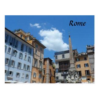 ローマ、イタリア ポストカード