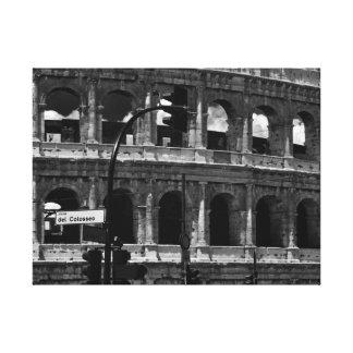 ローマ、イタリア-世界旅行からのColosseumのキャンバス キャンバスプリント