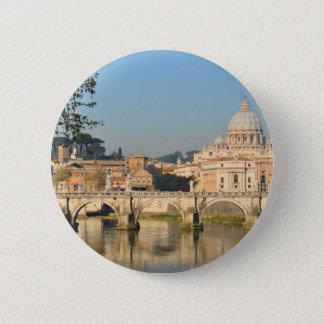 ローマ、イタリア 5.7CM 丸型バッジ