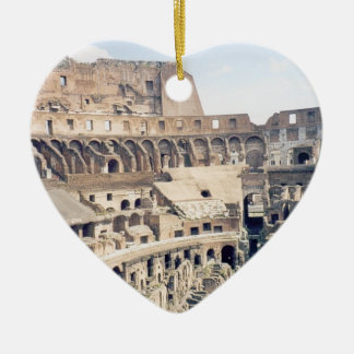 ローマ、イタリア- Colosseumのオーナメント セラミックオーナメント