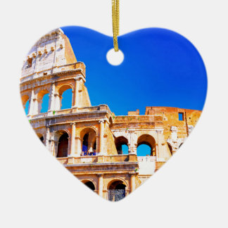 ローマ、イタリア- Colosseum セラミックオーナメント