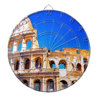 ローマ、イタリア- Colosseum ダーツボード