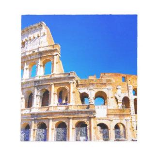 ローマ、イタリア- Colosseum ノートパッド