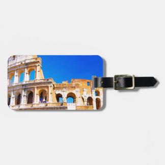 ローマ、イタリア- Colosseum ラゲッジタグ